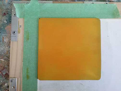 Mono print process 2