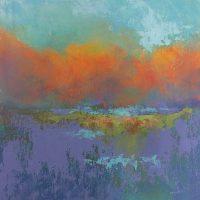 """Autumn Bright 12 x 12"""" Oil/cold wax"""