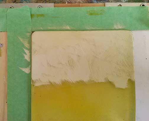 Mono print process 3