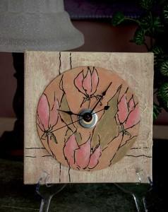 Tulip clock